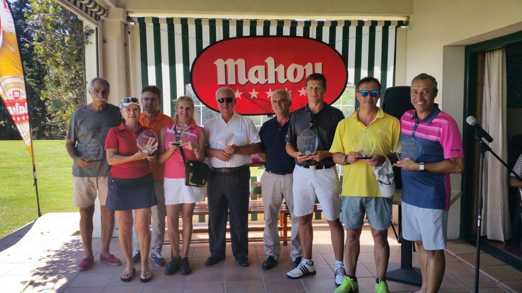 Los ganadores del V torneo de Cervezas Mahou